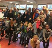 Foto uit album Sinterklaas groep 7