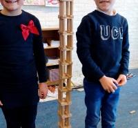 Foto uit album: Tipkaarten bouwen groep 5a