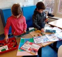 Foto uit album Tipkaarten bouwen groep 5a